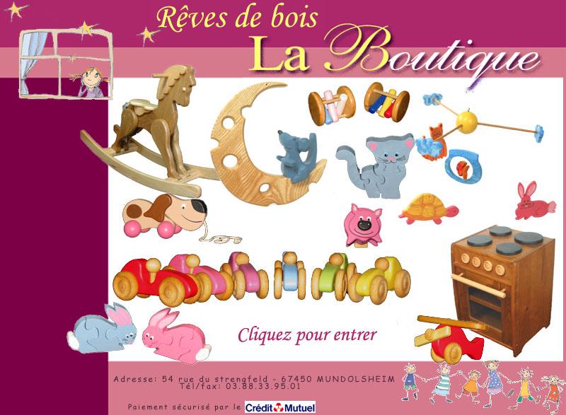 Rêves de bois jeux et jouets